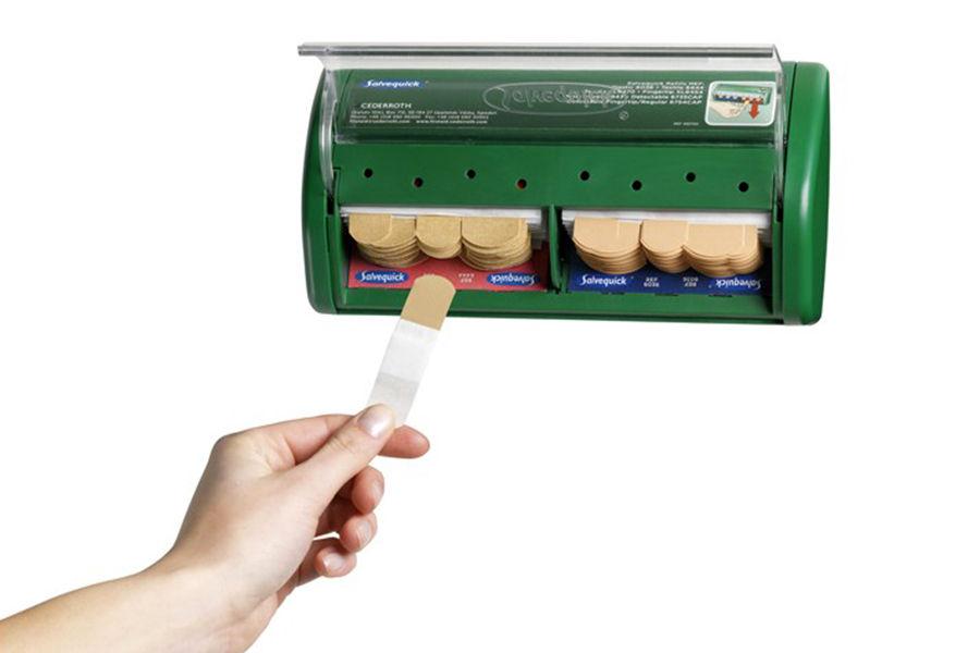 Automat z plastrami opatrunkowymi Salvequick
