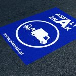 Naklejki na asfalt chodniki i bruk