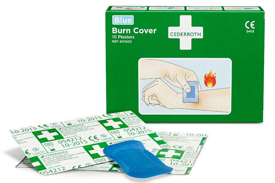 Plastry na oparzenia Burn Cover