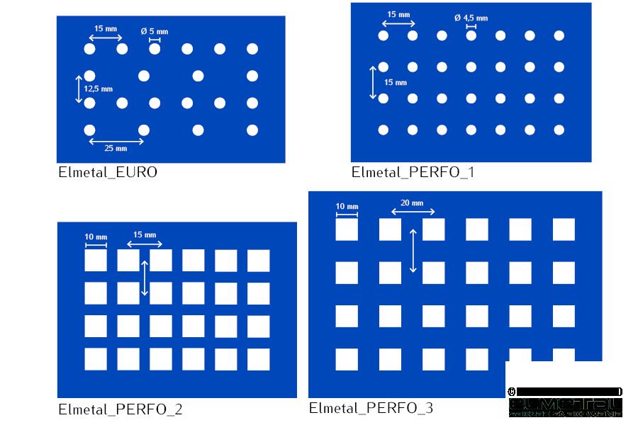 Tablice perforowane 5S