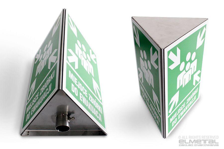 Znaki przestrzenne 3D – znaki BHP ewakuacyjne, przeciwpożarowe