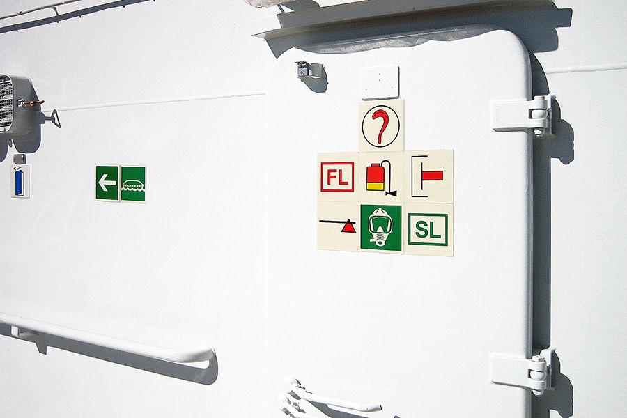 Znakowanie statków morskich