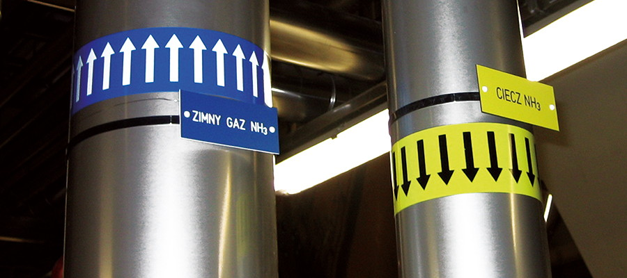 Oznakowanie procesowe instalacji