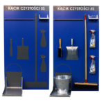 5S shadow board cleaning station