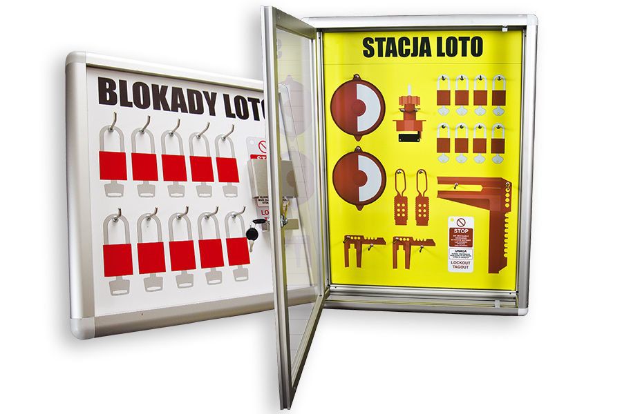 LOTO shadow stations