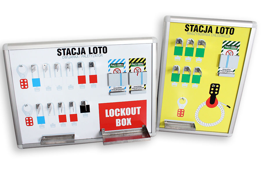 Lockout tagout shadow boards
