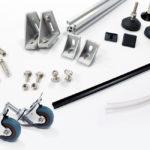 Profile aluminiowe 30x30 akcesoria