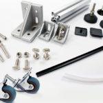 Profile aluminiowe 40x40 akcesoria